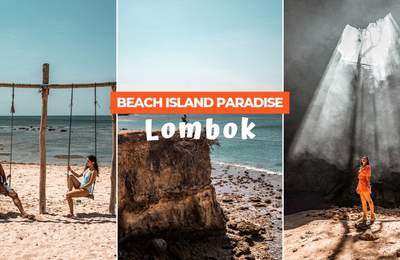 Pink Sand Beaches, Hidden Caves & Crystal Clear Waters Prove Lombok Is A Beach Paradise