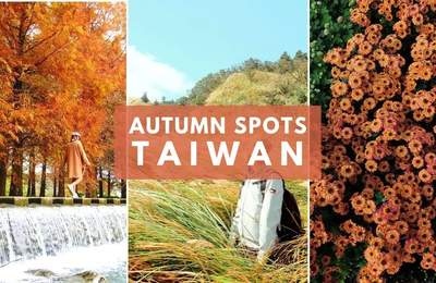 Leaf Your Worries Behind With These Autumn Sightseeing Spots In Taiwan