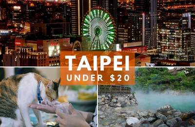 A Flying Cinema, Cat Cafe, Hot Springs & More Activities In Taipei Under $20