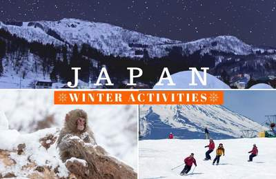10 Winter Activities In Japan To Add To Your Itinerary Featuring Snowshoeing, Whale Watching & Illuminations Galore