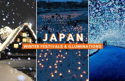 Japan Winter Festivals & Illuminations 2019-2020 Accessible With Your Japan Rail Pass