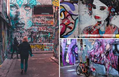10 Melbourne Laneways You Can Get Lost In – Walking Map Included!