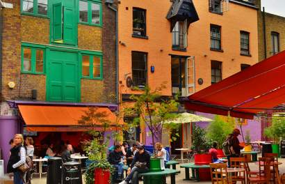 Here's Why Neal's Yard In Covent Garden Is London's Best Kept Secret