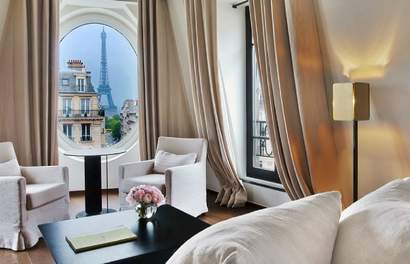 Hotels in Paris You Can Wake Up To Views Of The Eiffel Tower From €18/Night