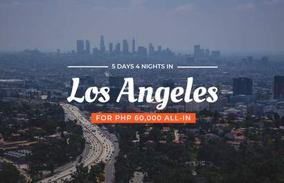 Dream Destinations for Less: 5D4N in Los Angeles, USA For Under PHP 60,000 ALL IN!