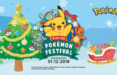 Gotta Catch 'Em All At The First POKÉMON Festival Happening In Genting Highlands!