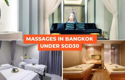 Bangkok Massages Under SGD30: Where to Go for Best Prices in 2019