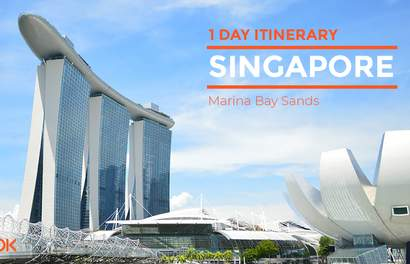 Explore Singapore's Marina Bay in 1 Day!