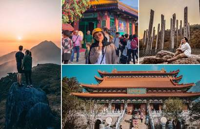 Unmissable Photo Spots All Around Ngong Ping Village and Lantau Island
