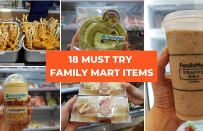 18 Must Try Items At The New FamilyMart In JB City Square!