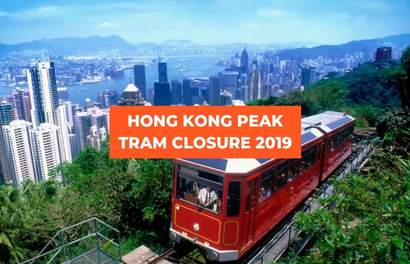 The Peak Tram In Hong Kong Will Be Closed For Maintenance From 23 April 2019 Till End June 2019