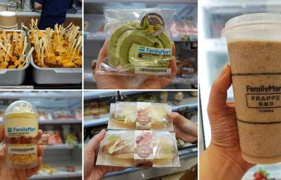 18 Must-Buy Food Items From FamilyMart Malaysia