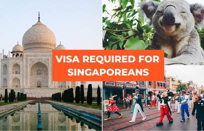 [2020 Update] A Visa Is Required If You're A Singaporean Visiting These Countries