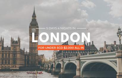 Ballin' On A Budget: 5D4N in London For Under SGD $2,000!