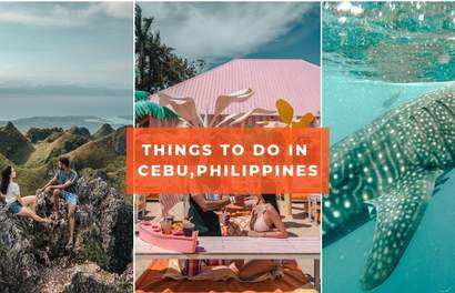 10 Outrageously Photogenic Things To Do In Cebu, Philippines Including Snorkeling With Whale Sharks!