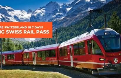 Explore Switzerland In 7 Days Using One Swiss Rail Pass
