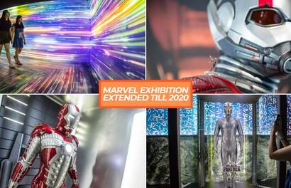 Marvel Exhibition Malaysia Is Extended Until 1 Jan 2020! Here's What You Can Expect