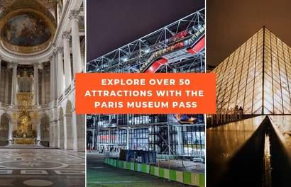 Skip The Line To The Louvre, Arc de Triomphe, Chateau de Versailles And More With The Paris Museum Pass!