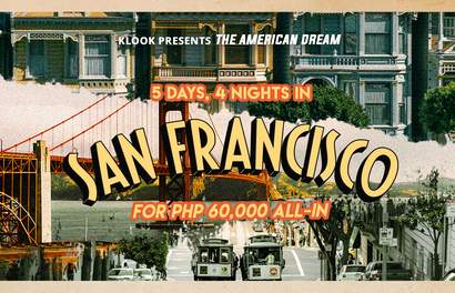 Dream Destinations for Less: 5D4N in San Francisco for PHP 60,000 ALL-IN
