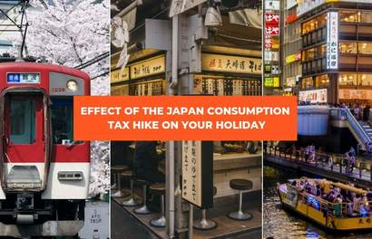 The Japan Consumption Tax Hike Starting 1 Oct 2019 And How It Will Affect Your Holiday To Japan