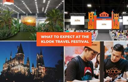 Win Free Holidays, Play Free Carnival Games, Build Your Holiday & More @ The Klook Travel Festival!