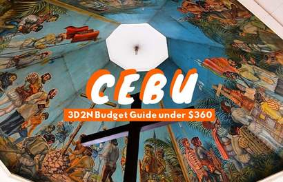 Ballin' On A Budget: 3D2N In Cebu For Under $360!