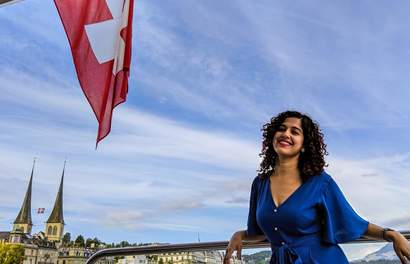 Here's How Curly Tales Explored Switzerland with Klook