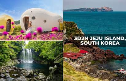 Jeju Island, South Korea 3D2N Itinerary