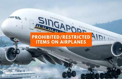 11 Prohibited And Restricted Items You Cannot Bring Onto Airplanes