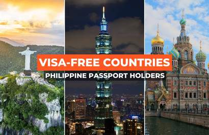 Here Are The 60+ Countries Filipinos Can Visit Visa-free!