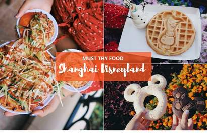 10 Must-Try Shanghai Disneyland Food That Are Equal Parts Adorable And Yummy!