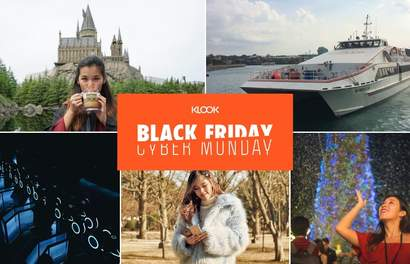 Get Ready For The BIGGEST Klook Sale Of 2019 This Black Friday Cyber Monday!