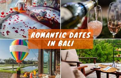 Romantic Dates In Bali To Impress Bae That Include Dining in Hot Air Balloons & Red Wine Spas
