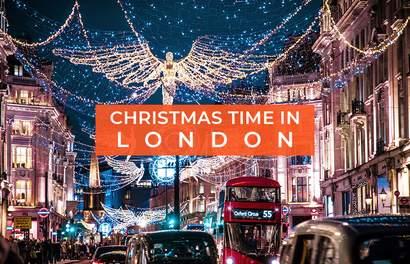 Winter Festivals & Markets Around London For Sparkling Lights & Outdoor Ice Rinks & Movie Screenings