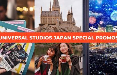 Universal Studios Japan Special Combo Packages