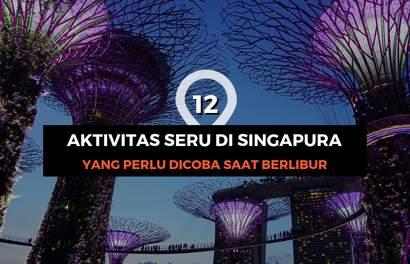 Coba 12 Aktivitas Seru di Singapura Ini Yuk!
