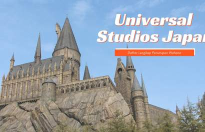 Daftar Lengkap Penutupan Wahana Universal Studios Japan hingga September 2019