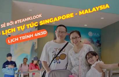 Lịch trình du lịch Singapore – Malaysia cho gia đình có trẻ nhỏ
