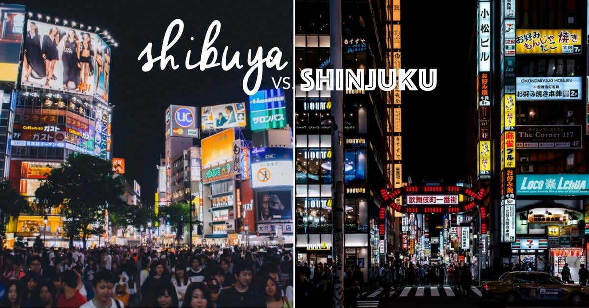 Where To Stay In Tokyo: Shibuya Or Shinjuku - Klook Japan