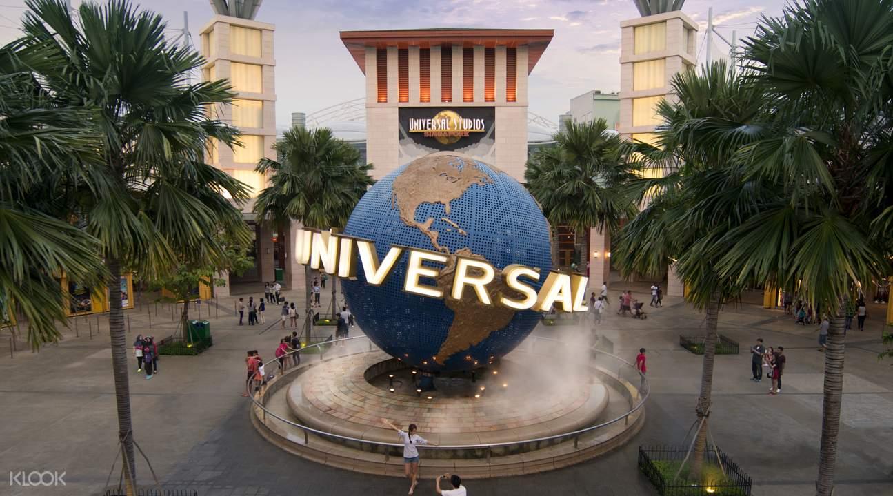ยูนิเวอร์แซล สตูดิโอ สิงคโปร์ สวนสนุกต่างประเทศ