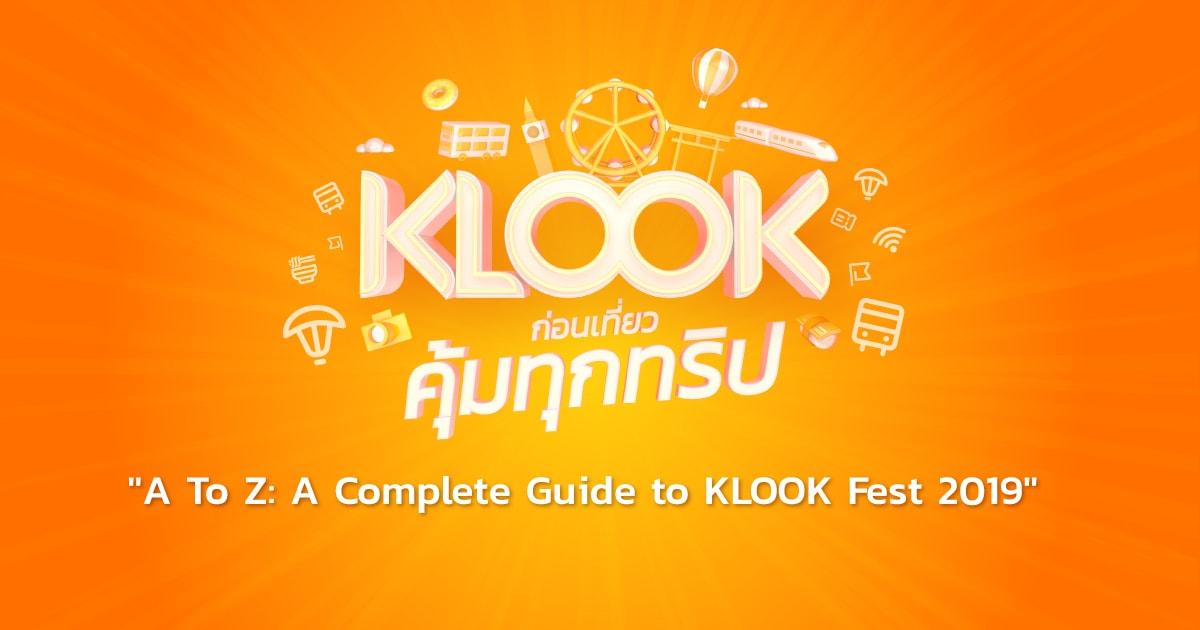 A Z Klook Fest 2019 1