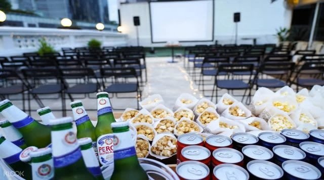 Open Air Film Club- Rooftop Movie at the Hive