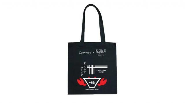 กระเป๋าผ้าลิมิเต็ดอิดิชั่นจาก Ippudo