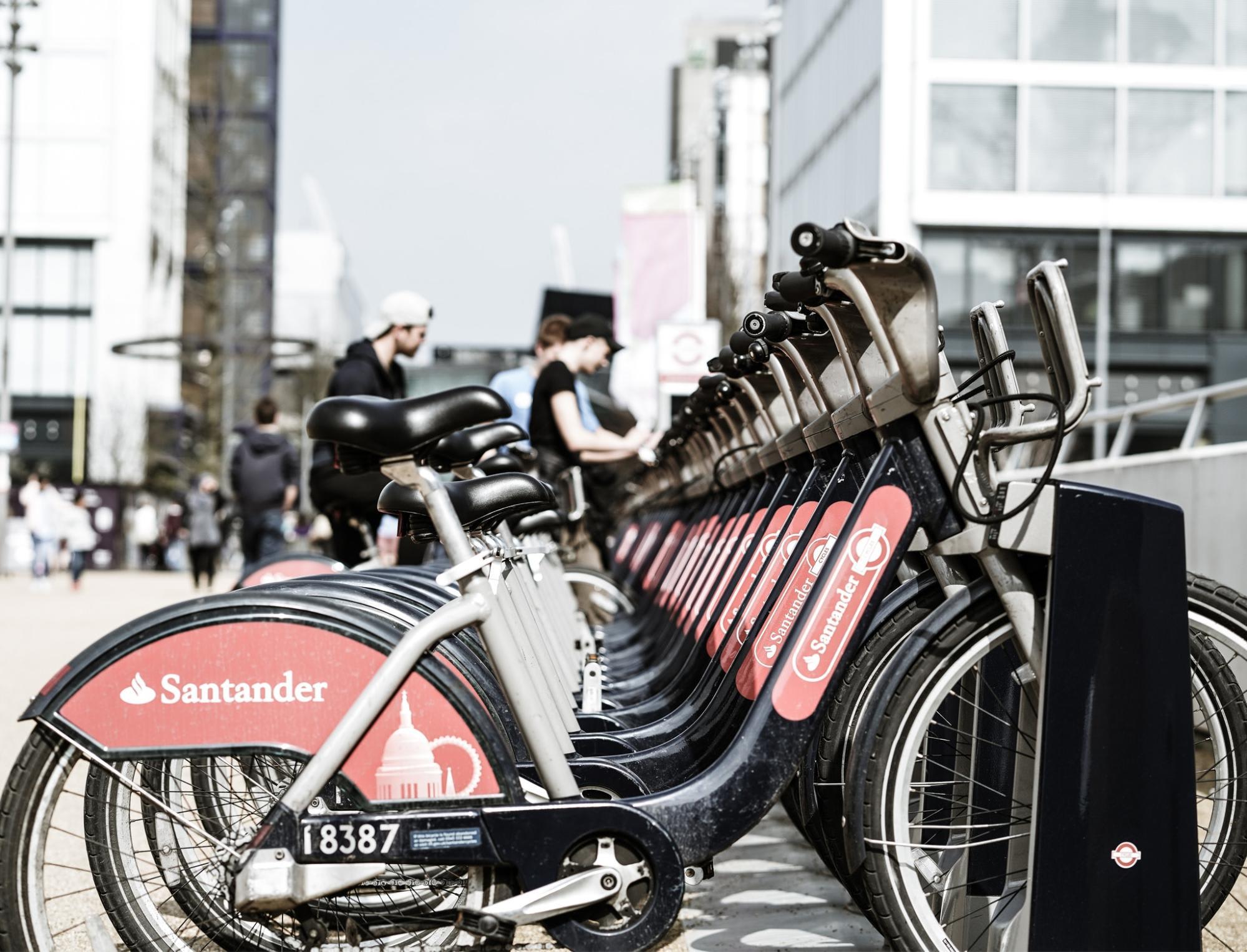 ปั่นจักรยาน Boris หรือ Santander