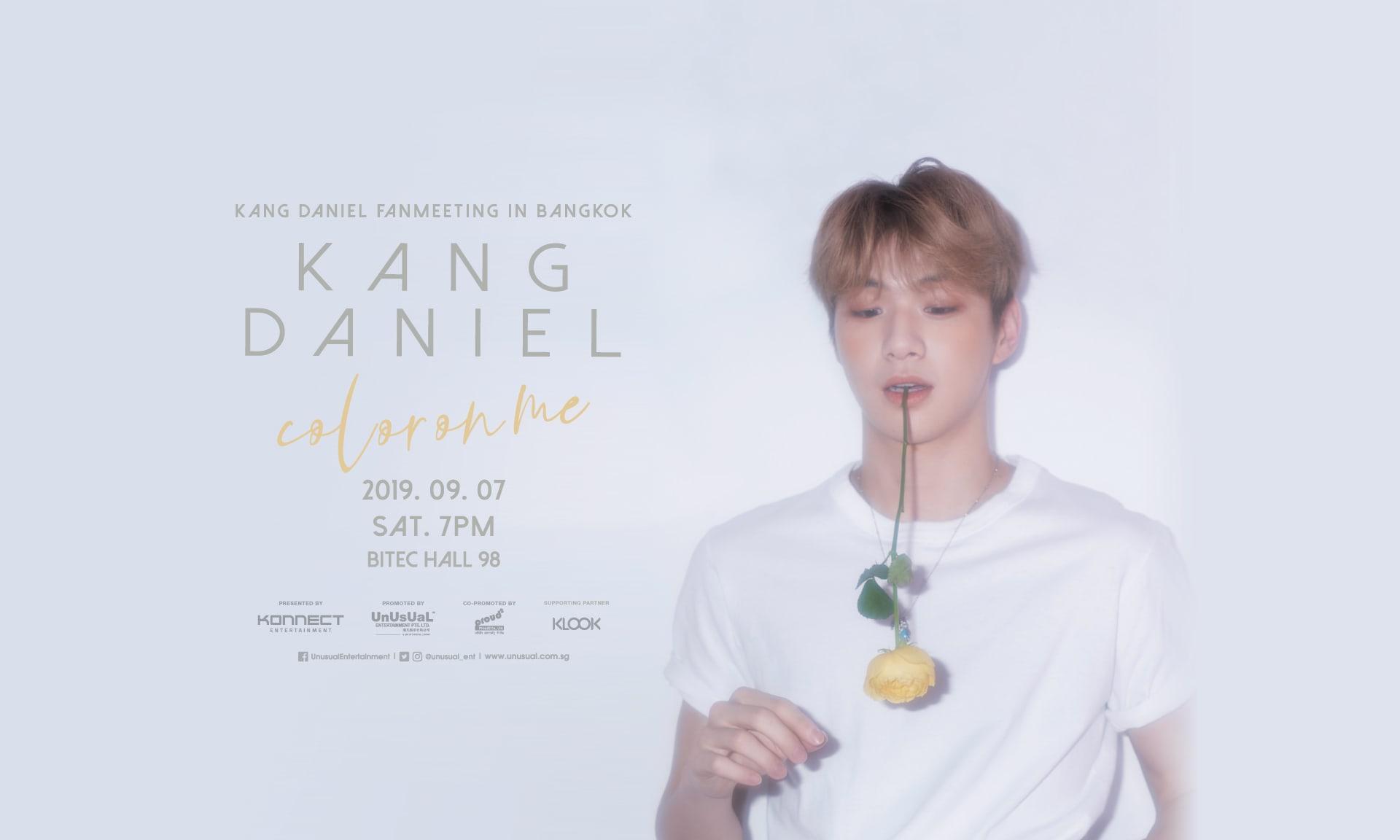kang daniel fanmeeting in bangkok klook