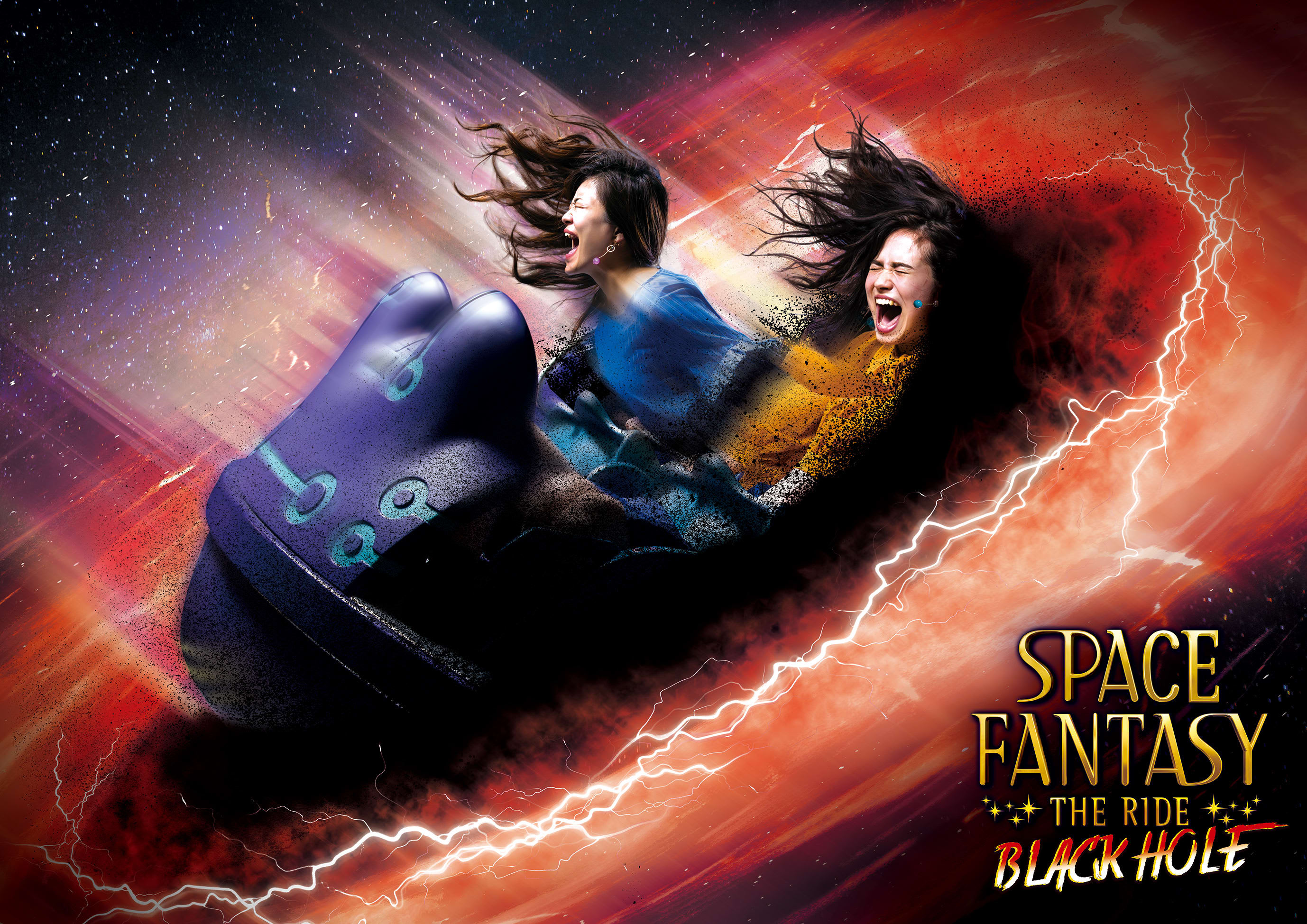 Space Fantasy - The Ride: Black Hole