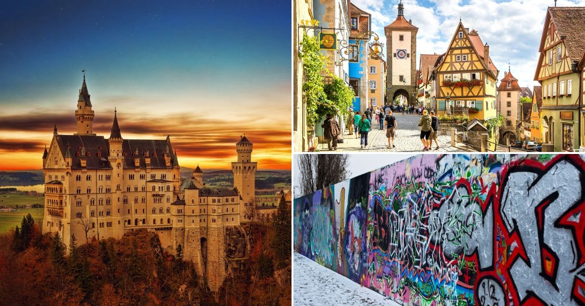 best sights germany