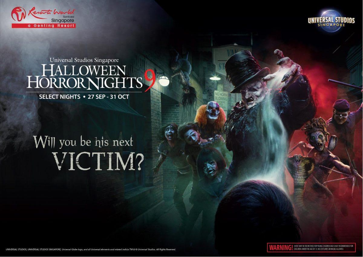 งาน Halloween Horror Nights 9