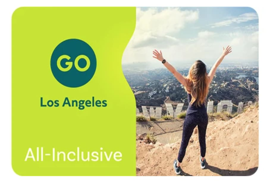 1. บัตร Go Los Angeles Card - All Inclusive Pass