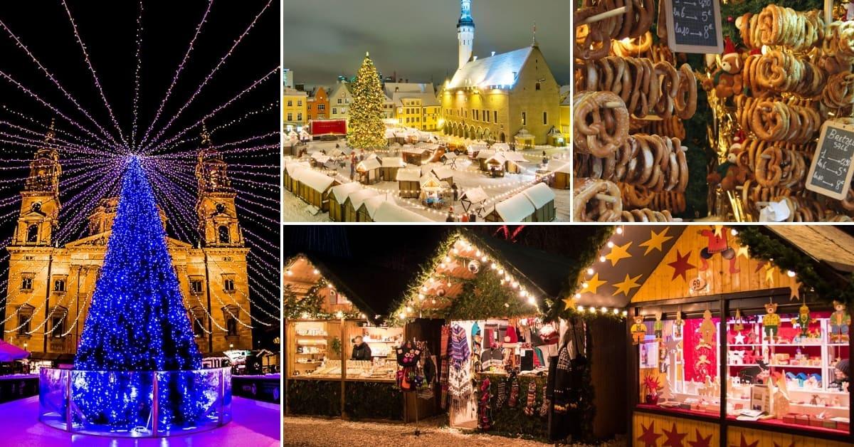 ตลาดคริสต์มาสในเยอรมัน